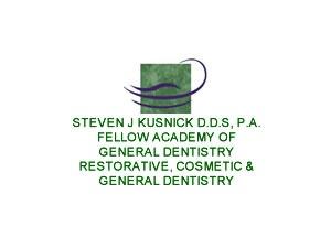 Dr Steven Kusnick Family Dentist Sunrise Florida