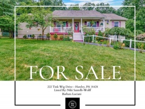 222 Tink Wig Dr Hawley, PA 18428 5 Beds and 3 Bath