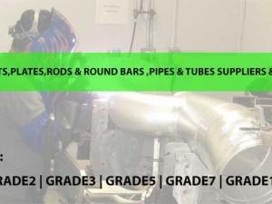 titanium Sheets and roundbars Manufacturers india