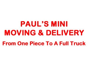 Pauls Mini Moving & Delivery