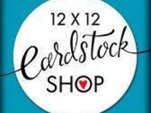 12x12 Cardstock Shop